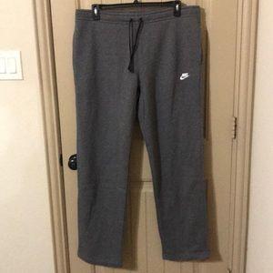 Nike men's sweatpants NWT sz XXL straight leg